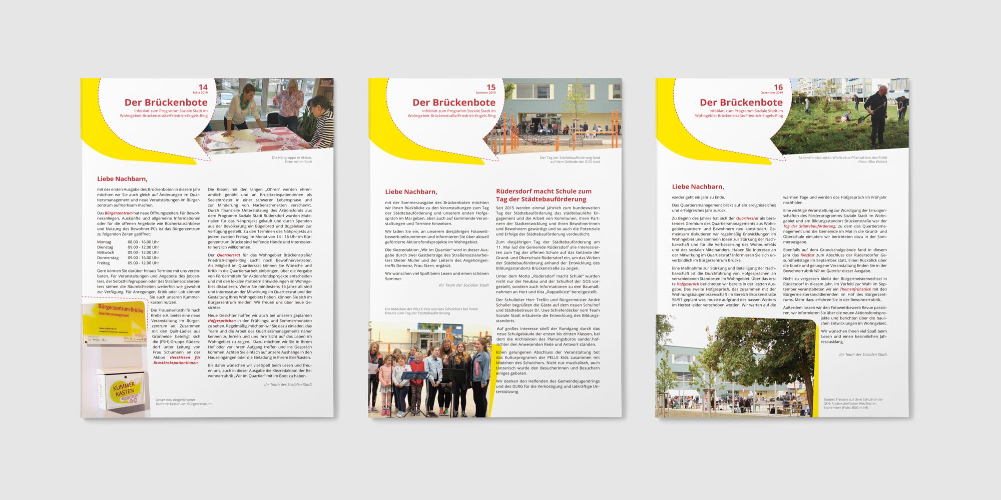 Drucksachen - Brückenbote für die Soziale Stadt Rüdersdorf